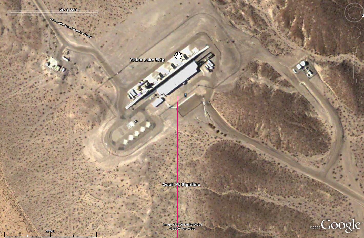 Stalking Big Black Triangles In The Mojave Desert