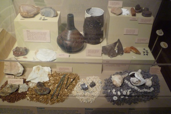 Some of the Cahokian trade goods.