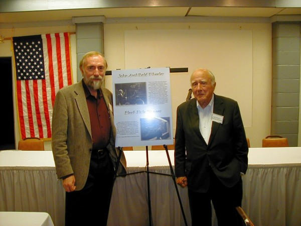 Kip Thorne and John Wheeler