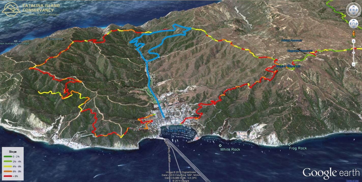 Picture of: Mountain Biking Santa Catalina Island