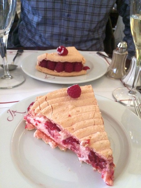 The amazing Ispahan at the Musee Jacquemart-Andre Cafe. Rose-raspberry heaven.