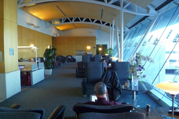 Inside the LAX Flagship Lounge