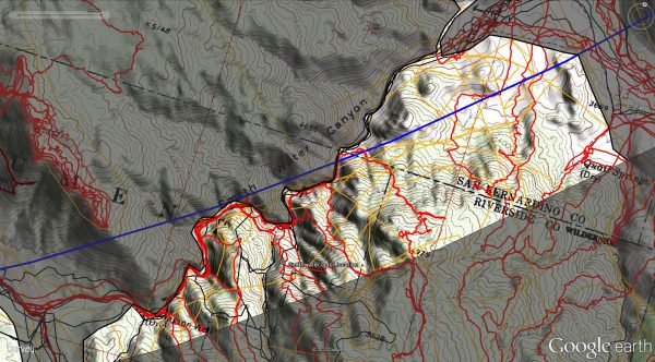 By January of 2013 (JT44) this resolved as the primary area of interest assuming an accident on descent into Smith Water and never reaching the bottom.