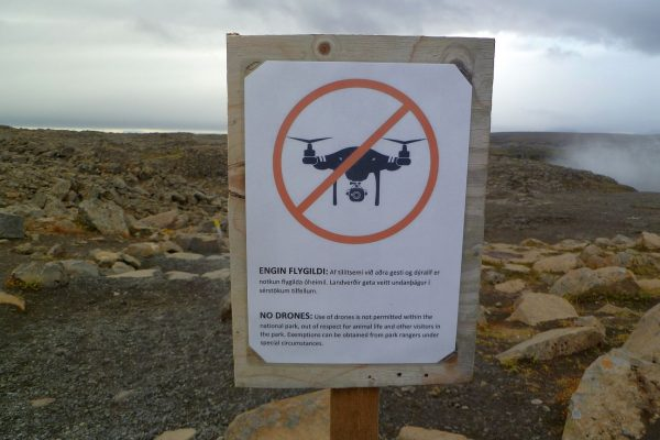 Iceland doesn't seem to have a lot of rules, but you can't fly drones at Dettifoss!
