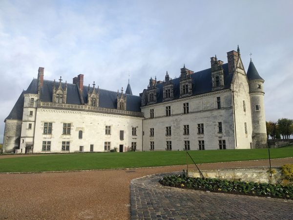 The Amboise Chateau Royal, home to Leonardo da Vinci's tomb.
