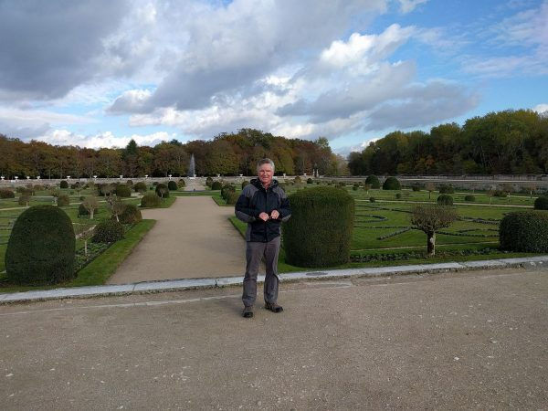 The gardens at Chenonceau Chateau