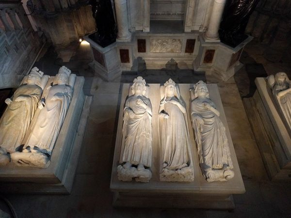 At Saint Denis, a whole bunch of dead kings and queens.