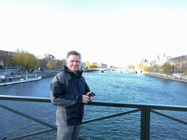 The weather finally turned decent the last couple of days, which is the way it usually goes. At the Seine.